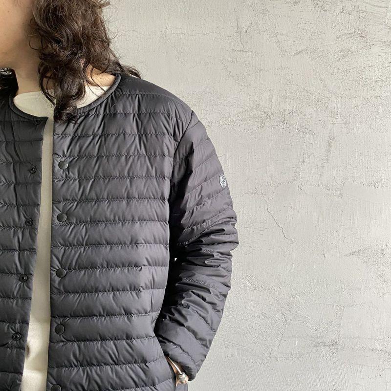 ORCIVAL [オーシバル] インナーダウン クルーネックジャケット [OR-A0086DPL] BLACK