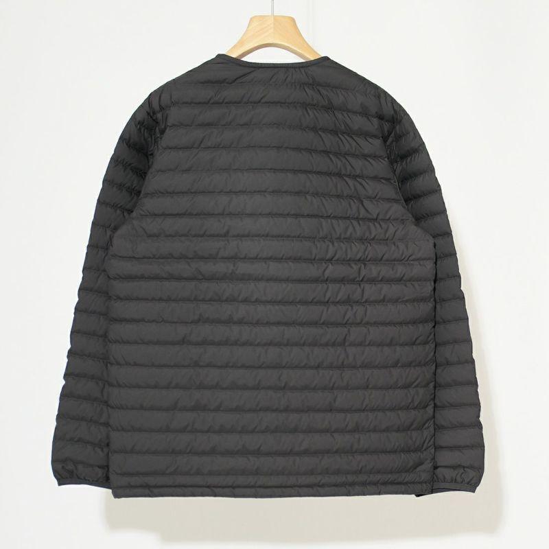 ORCIVAL [オーシバル] インナーダウン クルーネックジャケット [OR-A0086DPL] CHARCOAL