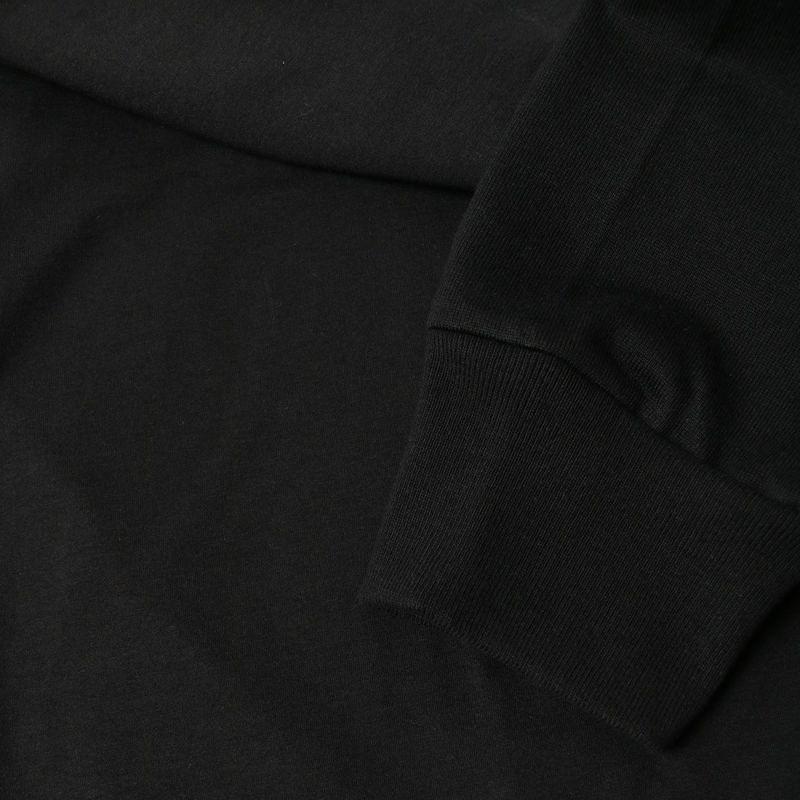 RIM.ARK [リムアーク] スウェットドッキングプルオーバー [460EAS80-0100] 020 BLK
