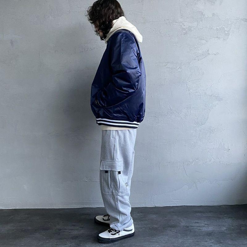PRO5 [プロファイブ] ヘビーフリースパンツ [HEAVY-FLEECE-CARGO-P] H.GREY&&モデル身長:173cm 着用サイズ:M&&