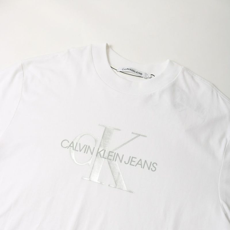 Calvin Klein Jeans [カルバンクライン ジーンズ] AFグロッシーモノグラムロングスリーブTシャツ [J20J217433] YAF