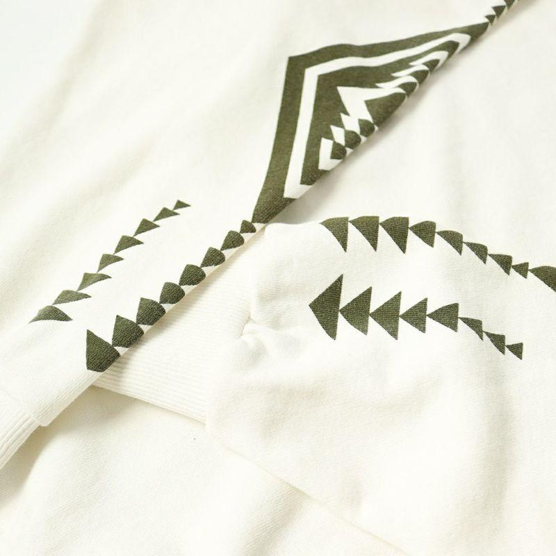 PENDLETON [ペンドルトン] 別注 バックプリントスウェット [1475-5220-JF] 09 WHITE