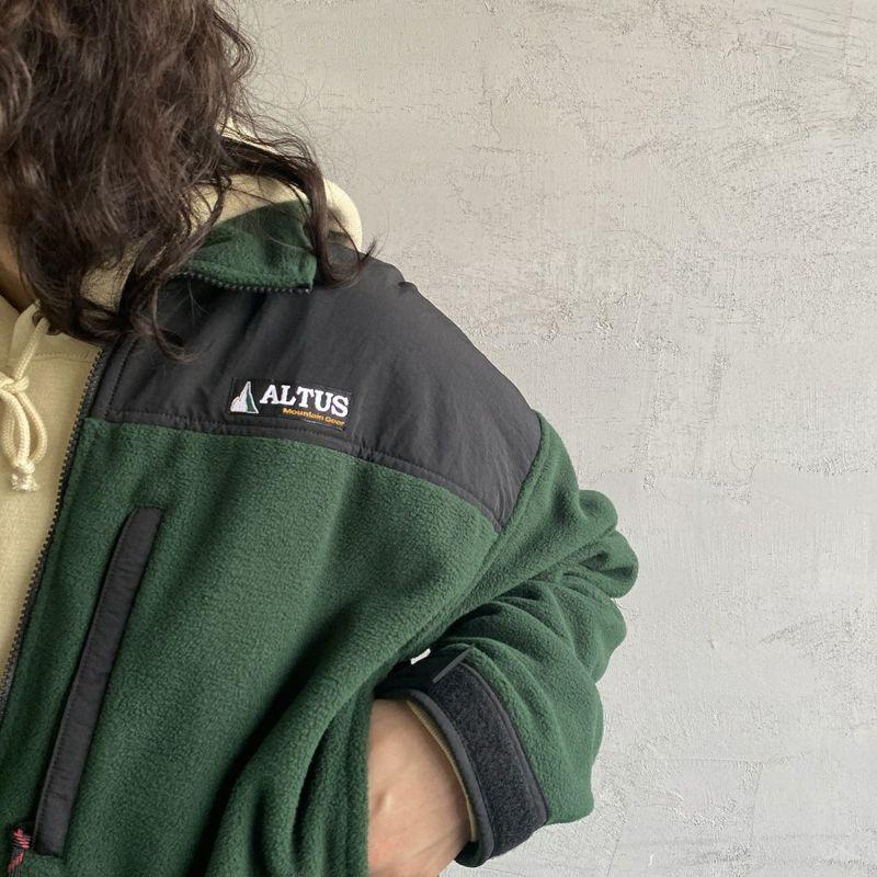 ALTUS Mountain Gear [アルタスマウンテンギア] 別注 マイクロフリースジャケット [AT-21AW-IN-OR021] GREEN