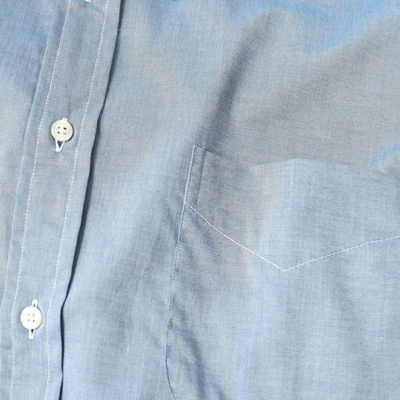 INDIVIDUALIZED SHIRTS [インディビジュアライズド シャツ] 別注 OVERSIZED BD オーバーサイズボタンダウンシャツ [IS2124003-JF] A45BCO