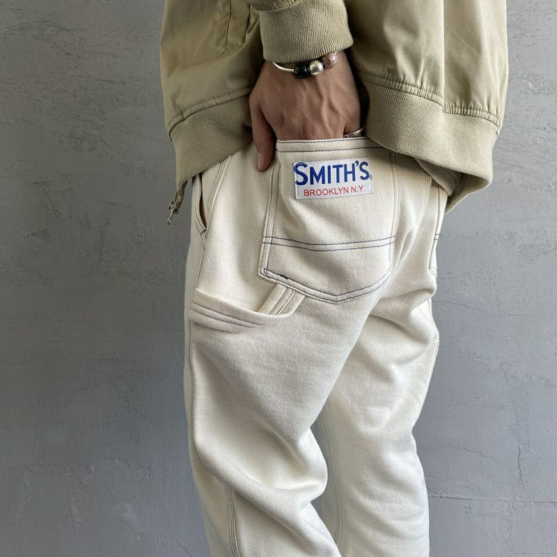SMITH'S [スミス] 別注 ペインタースウェットパンツ [1475-5252-JF] 28 NATURAL