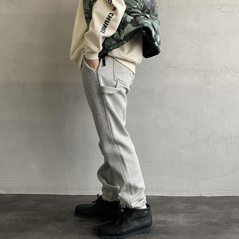 SMITH'S [スミス] 別注 ペインタースウェットパンツ [1475-5252-JF] 29 GREY&&モデル身長:173cm 着用サイズ:M&&