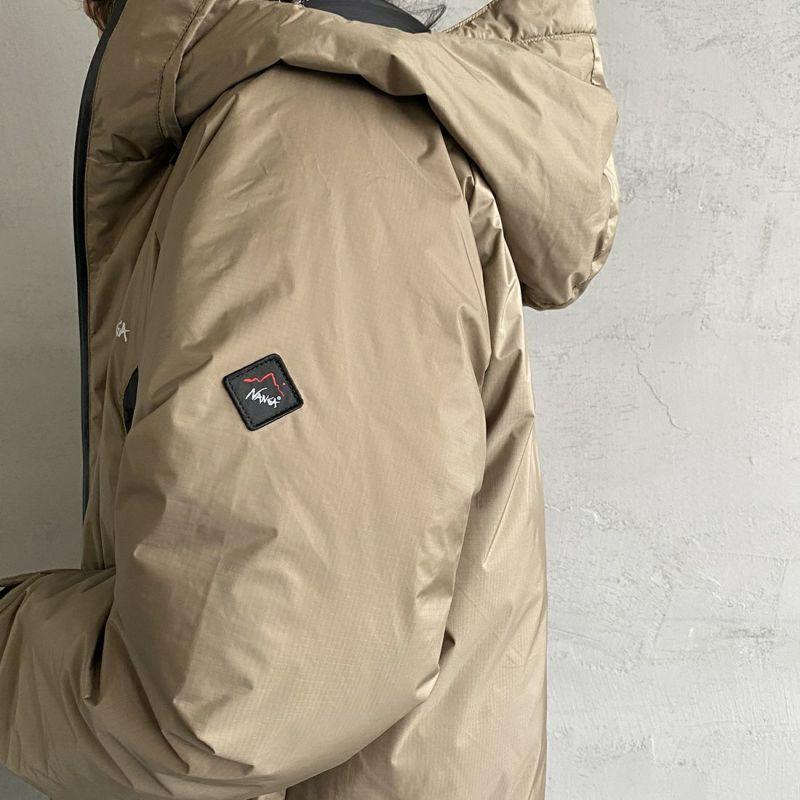 JEANSFACTORY × NANGA [ジーンズファクトリー × ナンガ] 別注 オーロラダウンジャケット [JMP-214-036-JF] BEIGE