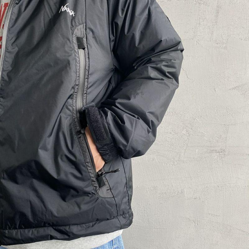 JEANSFACTORY × NANGA [ジーンズファクトリー × ナンガ] 別注 オーロラダウンジャケット [JMP-214-036-JF] BLACK