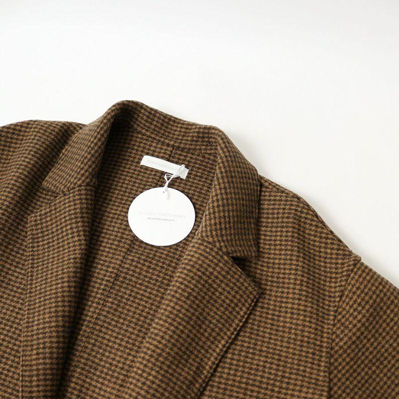 Jeans Factory Clothes [ジーンズファクトリークローズ] ウールダブルフェイスオーバーコート [8514151-02] CDR