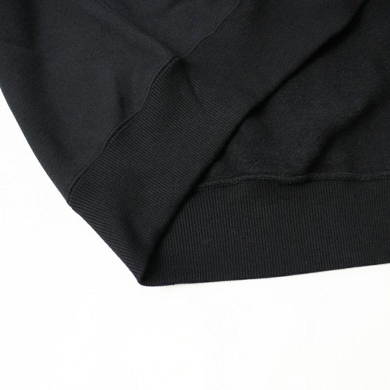 DUNNO [ダノウ] プリントフーディースウェット [DN0901303] BLACK