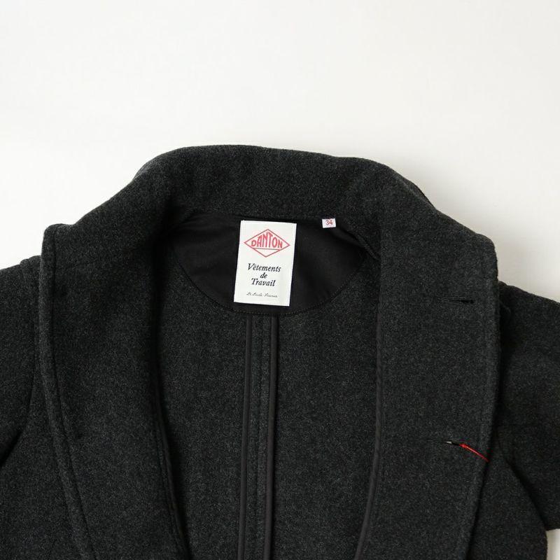 DANTON [ダントン] ウールパイル 丸襟ジャケット [DT-A0010WOP] H.CHARCOAL