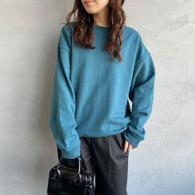 Jeans Factory Clothes [ジーンズファクトリークローズ] ヘビーウェイトクルーネックスウェット [2123-425IN] GREEN