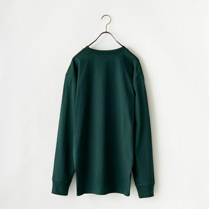 carhartt WIP [カーハートダブリューアイピー] ロングスリーブアメリカンスクリプトTシャツ [I029955] GROVE&&モデル身長:173cm 着用サイズ:M&&