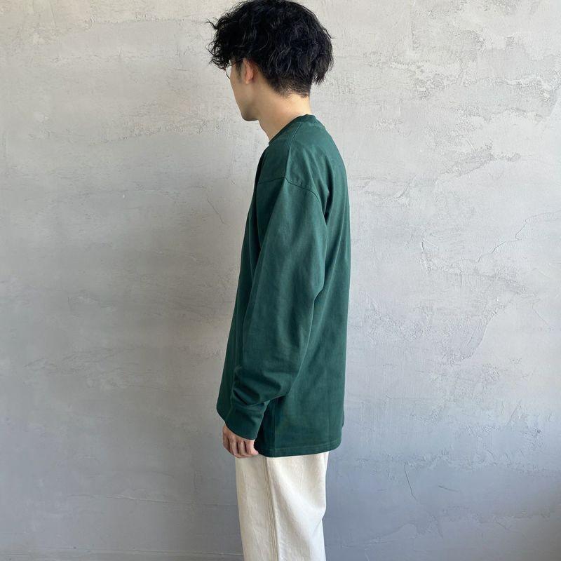 carhartt WIP [カーハートダブリューアイピー] ロングスリーブアメリカンスクリプトTシャツ [I029955] WHITE