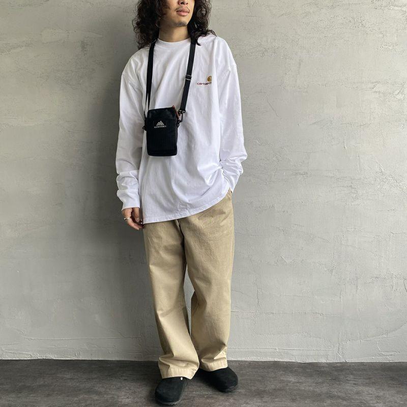carhartt WIP [カーハートダブリューアイピー] ロングスリーブアメリカンスクリプトTシャツ [I029955] GROVE
