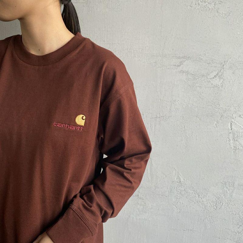 carhartt WIP [カーハートダブリューアイピー] ロングスリーブアメリカンスクリプトTシャツ [I029955] OFFROAD